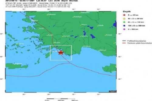 Σεισμός 6 Ρίχτερ στην Κεφαλονιά