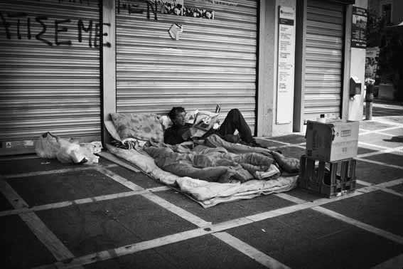 Η χριστουγεννιάτικη Αθήνα της κρίσης
