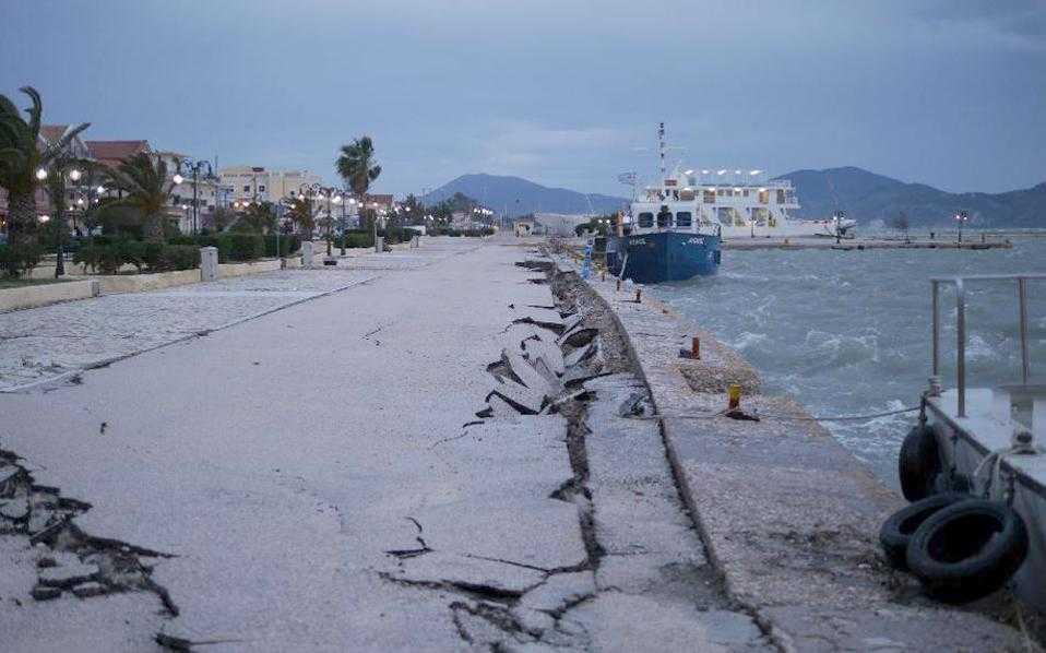 Σεισμόπληκτη κηρύχθηκε όλη η Κεφαλονιά