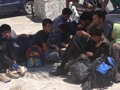 Συμπλοκές μεταξύ μεταναστών στην Μυτιλήνη