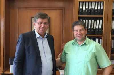 Οι Θεσσαλοί Απόδημοι συνάντησαν τον Δήμαρχο Καλαμπάκας