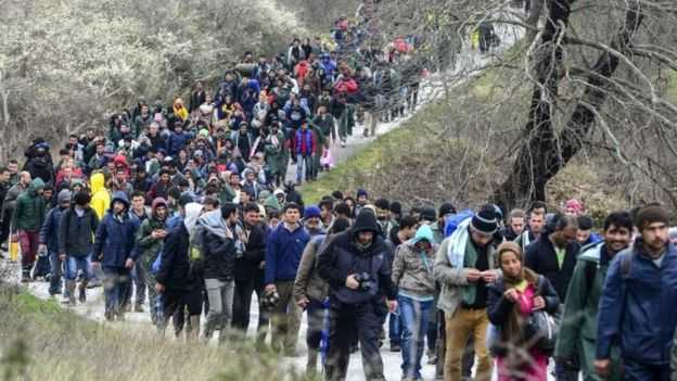 Χαοτική η κατάσταση με τους πρόσφυγες