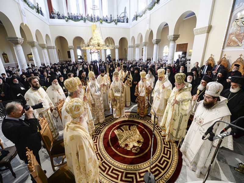 Ecumenical Patriarch Bartholomew presides over the Orthros and Synodal Divine Liturgy (photos)