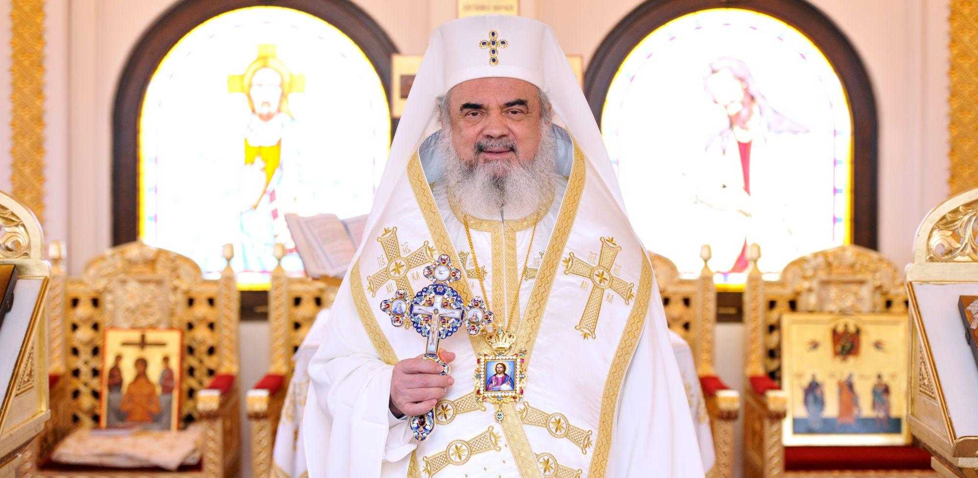 The Homliy of the Patriarch of Romania (video)