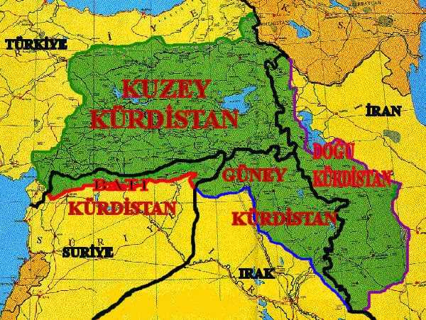 The Kurdish independence changes the entire Middle East