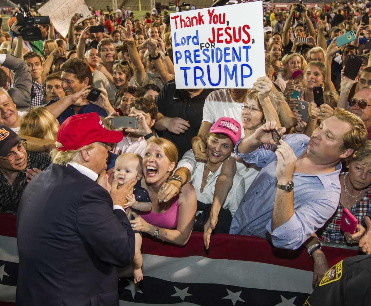 The pro-Trump demographics