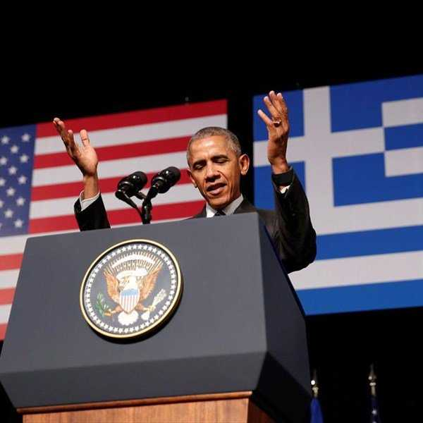 Η ιστορική ομιλία Ομπάμα στην Αθήνα: «Ζήτω η Ελλάς»! {Video}