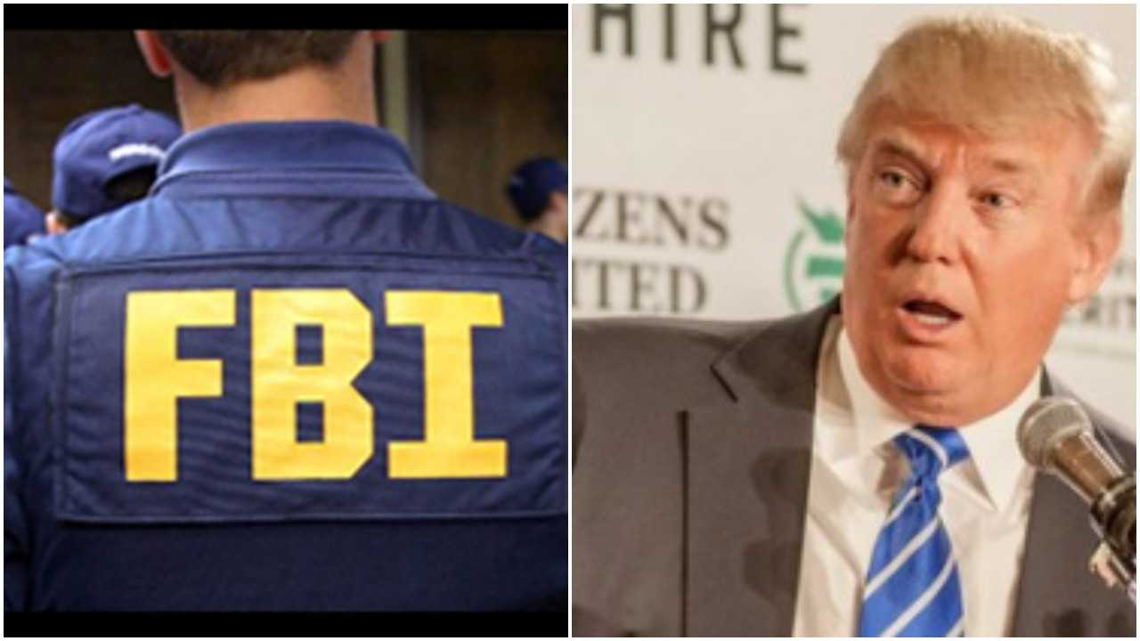 FBI's present to Trump