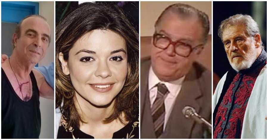 Διάσημοι Έλληνες που «έφυγαν»του 2016