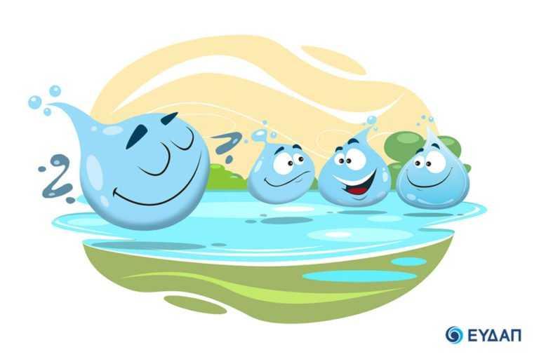 Η ΕΥΔΑΠ τίμησε την παγκόσμια Ημέρα Νερού