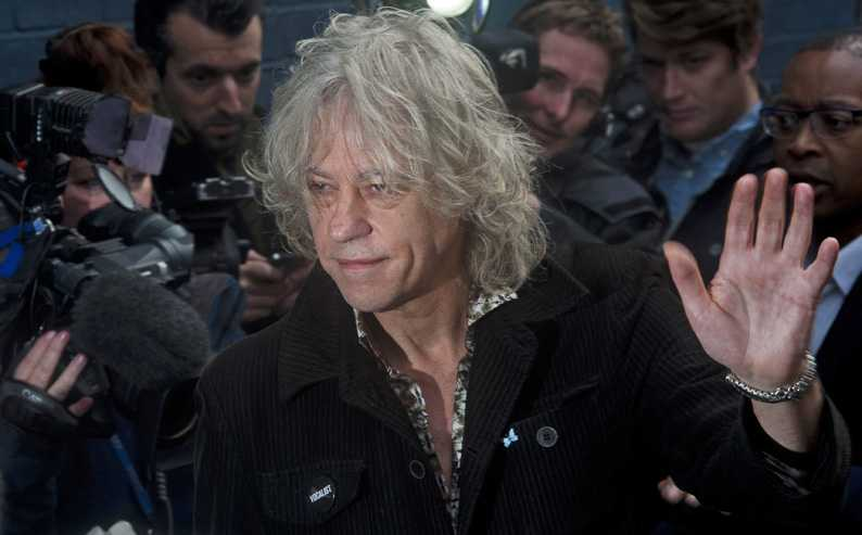 Musician and activist Bob Geldof performs in Famagusta tommorrow