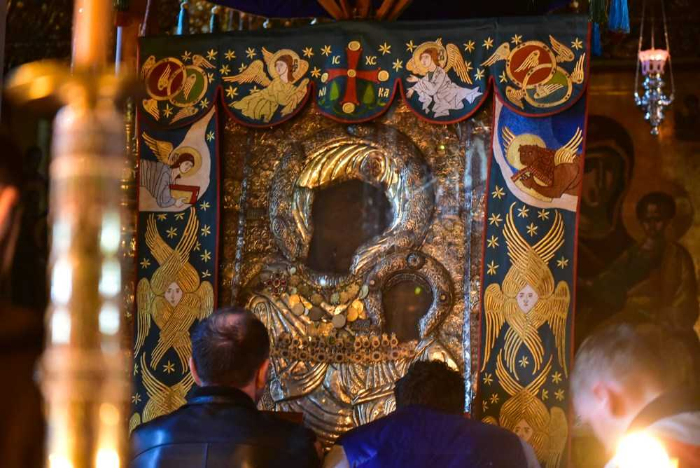 Οι εορτασμοί για την Παναγία την Πορταϊτίσσα στη Μονή Ιβήρων