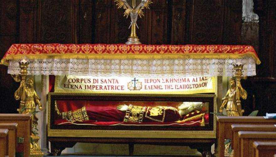 Ο Ποντιακός Ελληνισμός τιμά το ιερό λείψανο της Αγίας Ελένης