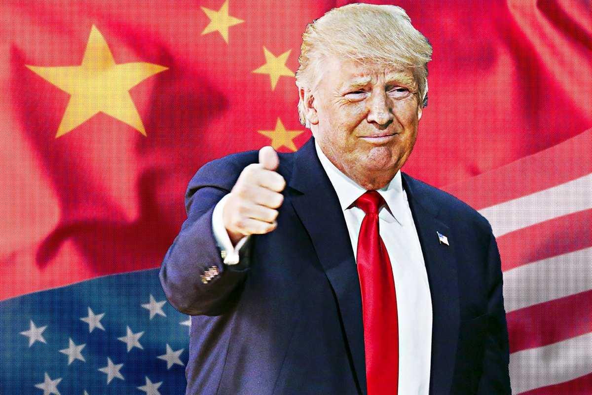 Eπίδειξη δύναμης του Τραμπ απέναντι στην Κίνα