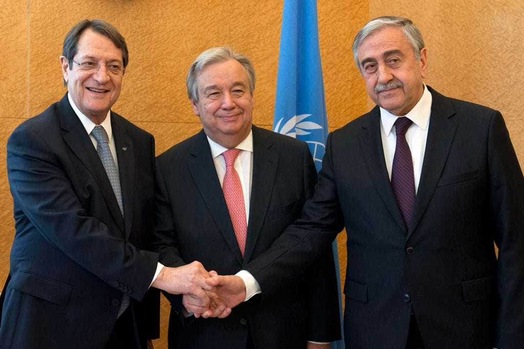 Anastasiades and Akinci are set to meet with UN Secretary Gutteres in NY