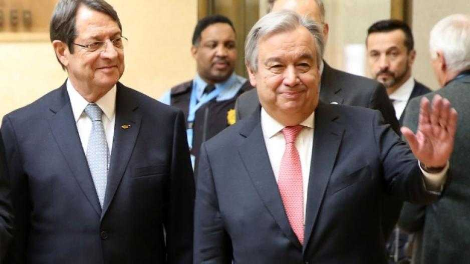 Anastasiades letter briefs Guterres but doesn't exposing Eide's tactics
