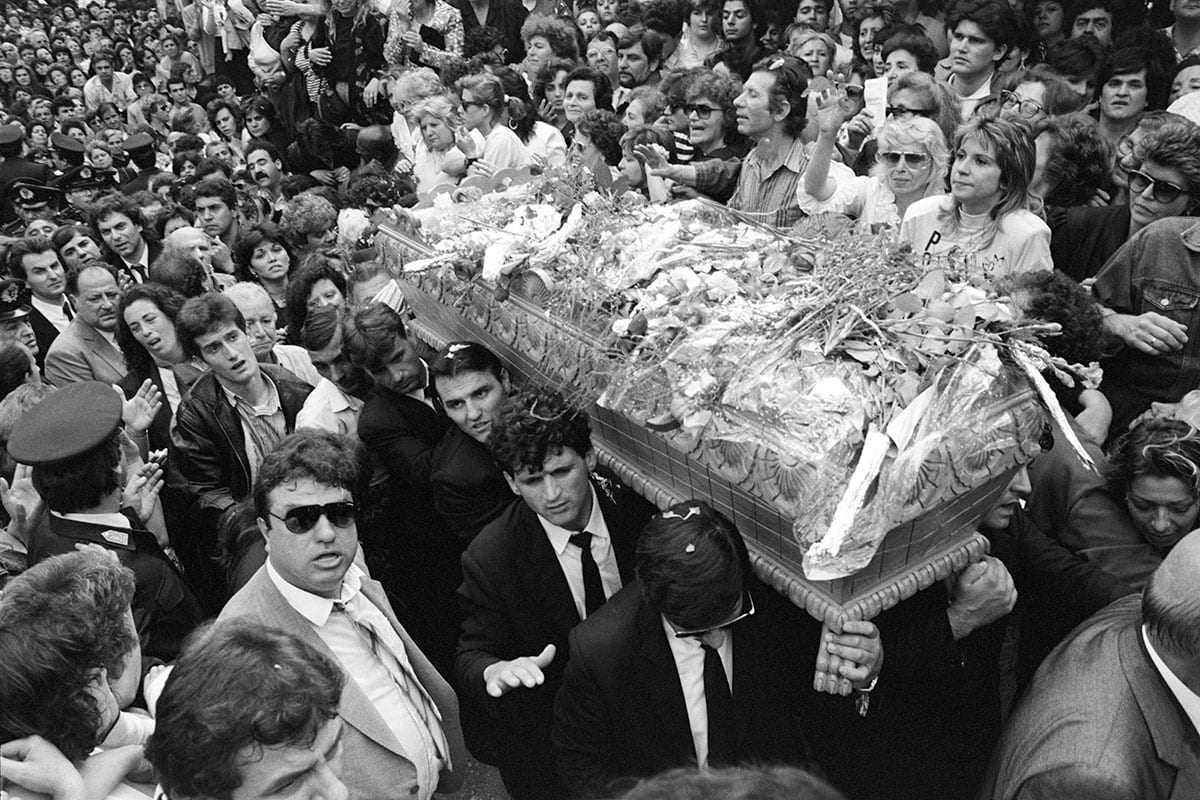 Oι επτά πιο ιστορικές κηδείες των τελευταίων τριάντα ετών
