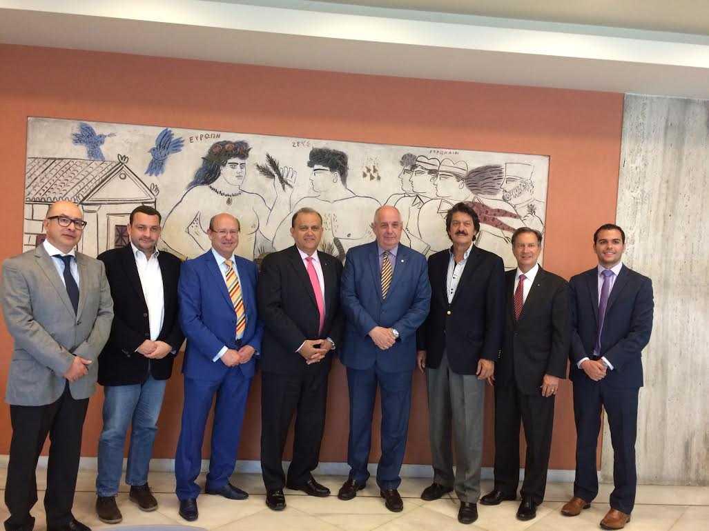 Τέρενς Κουίκ: συνάντηση Εργασίας με τον Πρόεδρο του Ελληνοαμερικανικού Ινστιτούτου (AHI)