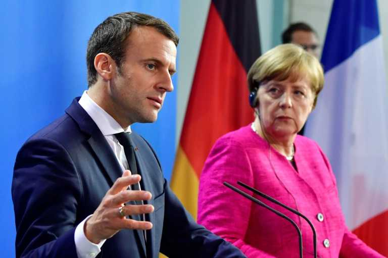Macron bears tensions between France and Germany