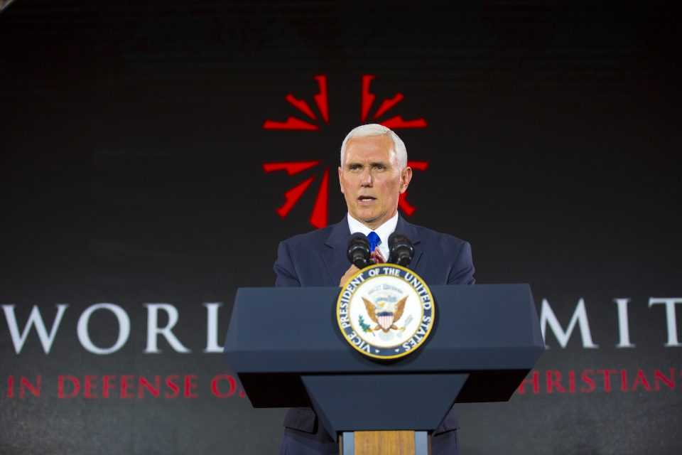 Michael Pence on the Defence of the Persecuted Christians of the world
