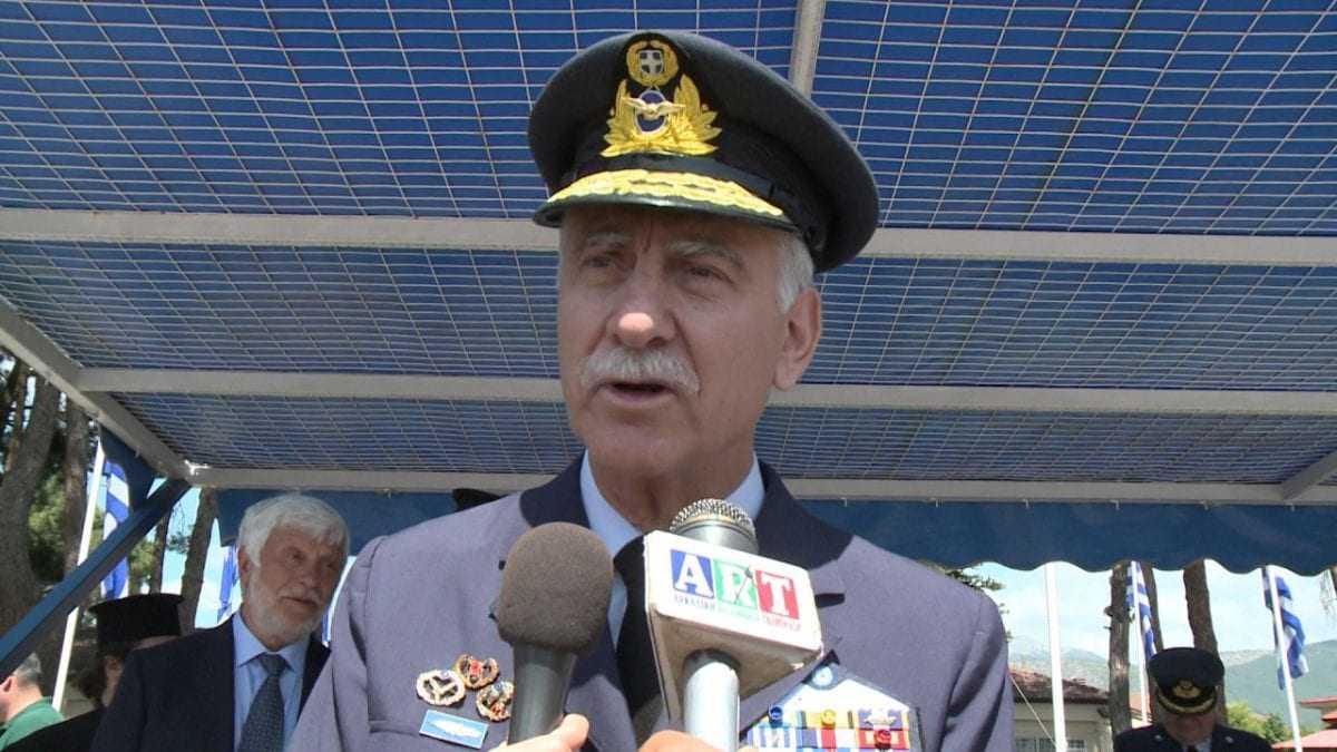 Μήνυμα προς την Άγκυρα από τον Αρχηγό ΓΕΑ (βίντεο)