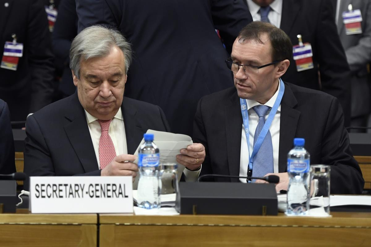 Κυπριακό: Γκουτιέρες -Άιντα σε διατεταγμένη (;) αποστολή