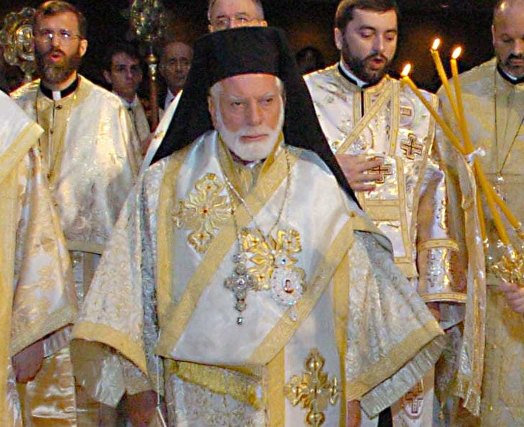 The Greek Orthodox Archdiocese of America is mourning the passing of Metropolitan Iakovos of Chicago