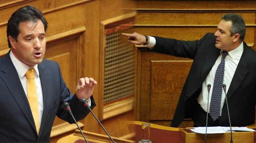 Σύγκρουση Καμμένου-Γεωργιάδη στη Βουλή για την υπόθεση Noor1 (βίντεο)