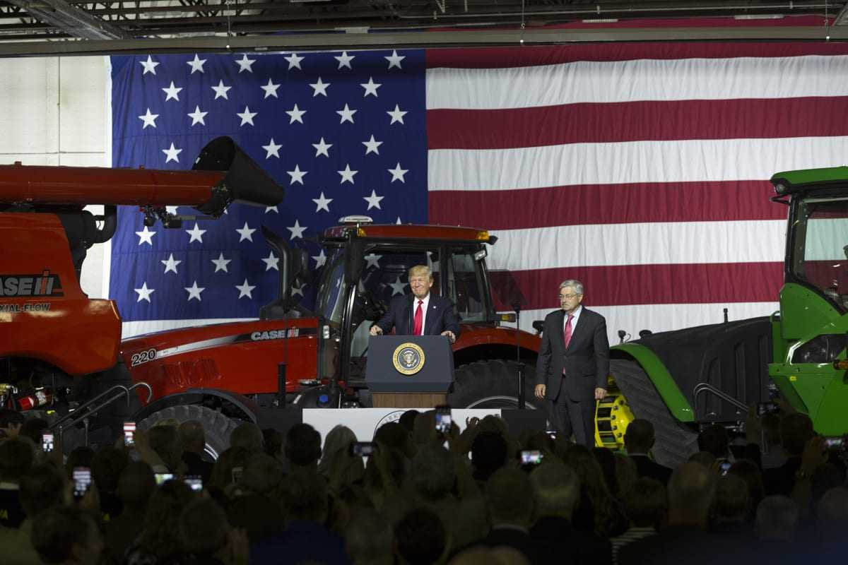 President Trump highlights Agricultural Innovation