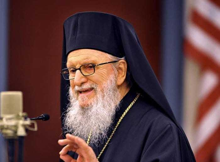 Archbishop Demetrios of America: we join with faithful down in lifting high the emblem of our faith