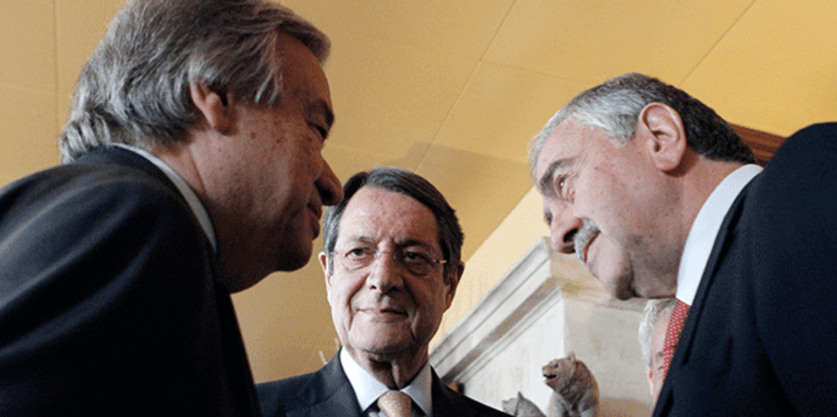 Anastasiades and Guterres stand firm on their commitment for the Cyprus talks