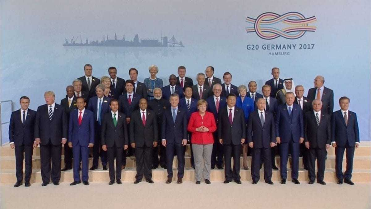 President Trump participates in the G-20 Summit Leaders Meeting