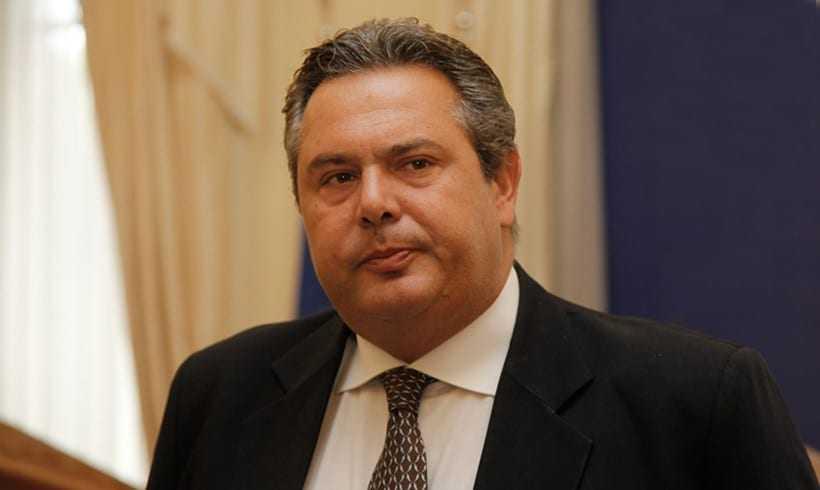 Γιούχαραν τον Καμμένο στην Κύπρο για την συμφωνία με τα Σκόπια