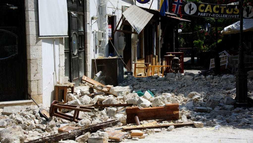 Άμεση ανταπόκριση της κυβέρνησης στην καταστροφή της Κω