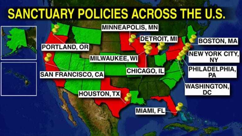 The cities that harbor criminal illegal immigrants are «un-American»