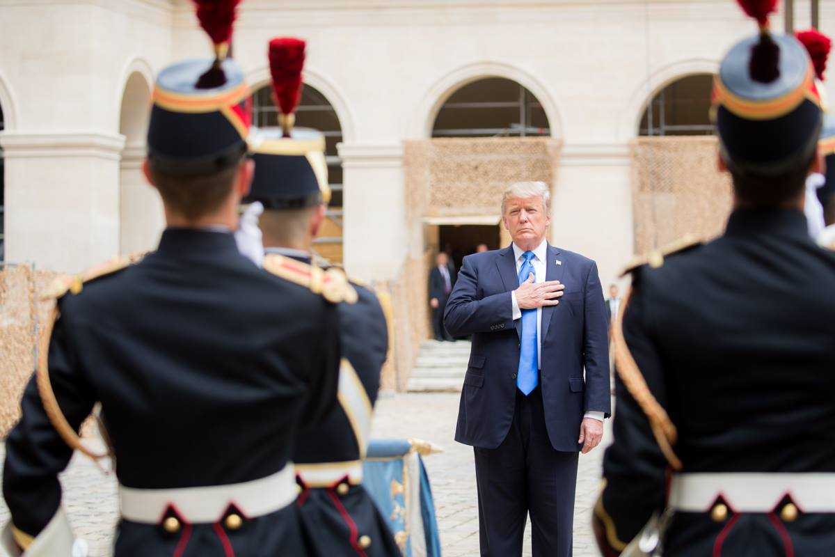 President Trump is in Paris for meetings and celebrations with America's oldest ally