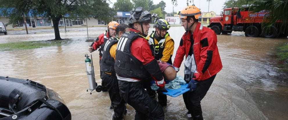 Escaping hurricane Harvey: The true heroes that set an example for us all