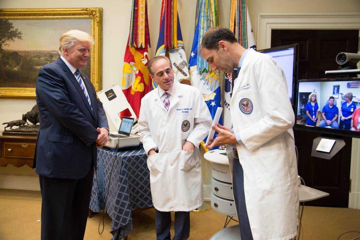 President Trump and Secretary Shulkin announce Veteran telehealth initiatives