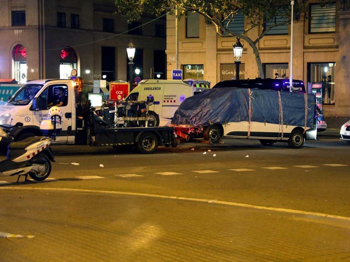 19 Φωτογραφίες από το τρομοκρατικό χτύπημα στη Βαρκελώνη