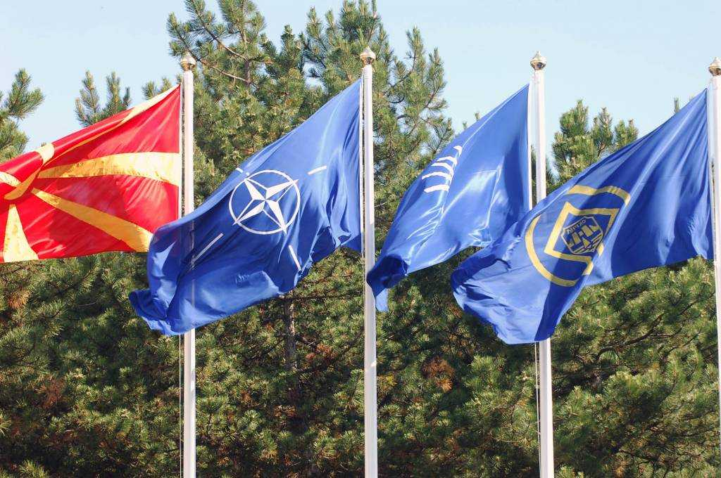 Who is in a hurry for FYROM's accession to NATO?