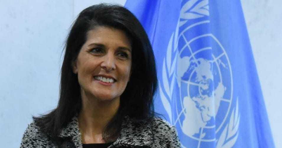 Trump has a secret weapon at the UN: Ambassador Nikki Haley