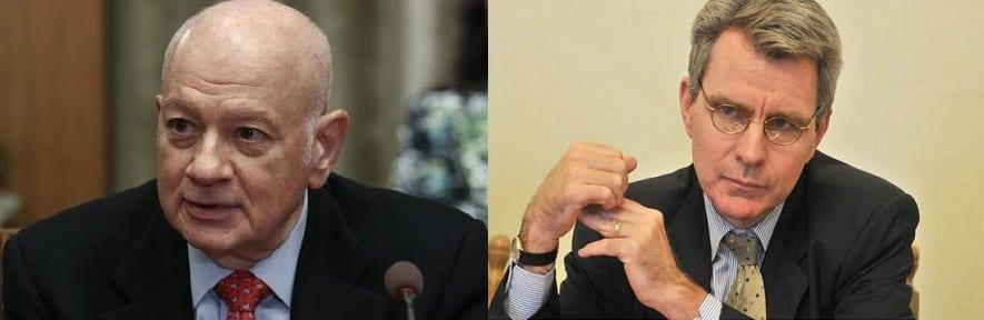 Συνάντηση Παπαδημητρίου-Pyatt ενόψει του ταξιδιού του Έλληνα Υπουργού στις ΗΠΑ