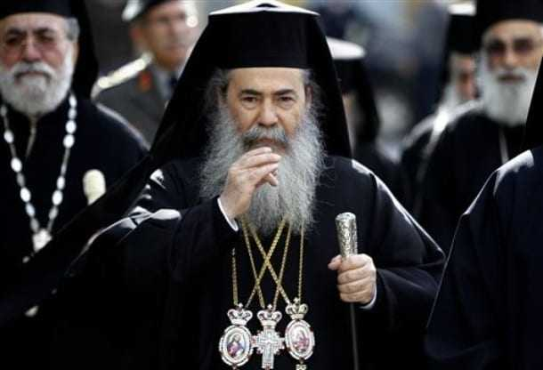 Patriarch Theofilos of Jerusalem is determined to stop the sale of Church land