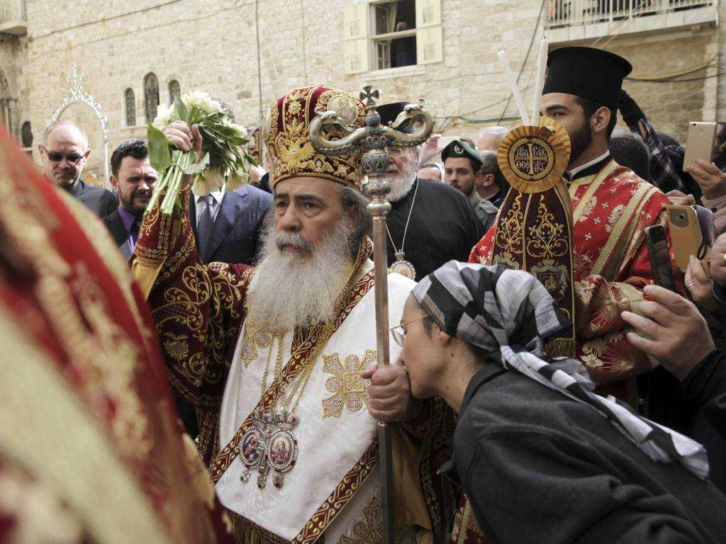 Jerusalem's Greek Orthodox patriarch has denounced the Israeli court ruling on the Church's land sale