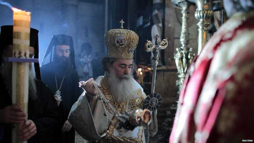 "Patriarch Theofilos of Jerusalem declares «that ""The church will do everything within its power» in order to overturn the sale of Church land"