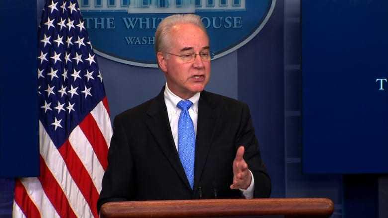 Secretary Price vows to win against opioid epidemic