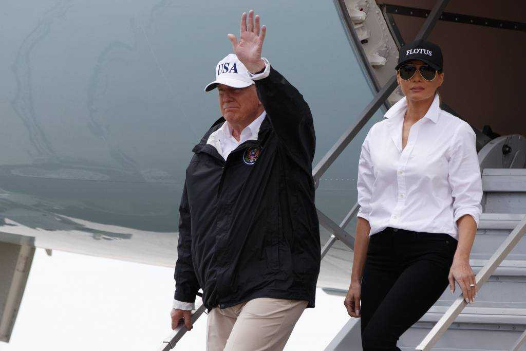 Trump's handling of the hurricane response thus far is to be commended