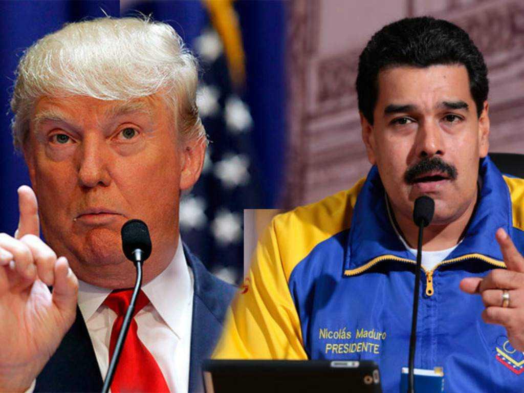 "Trump on Venezuela: the U.S. won't help underwrite ""tyranny"""
