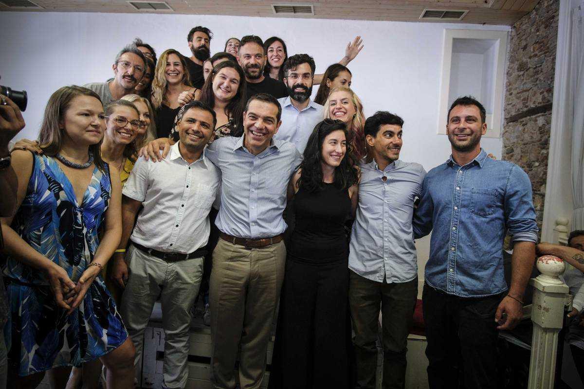 Επίσκεψη του Αλέξη Τσίπρα στο Impact Hub Athens