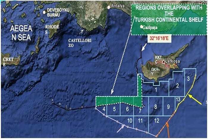 Ανησυχία στη Κύπρο – Η Τουρκία ανανέωσε τη NAVTEX μέχρι τις 18 Μαρτίου